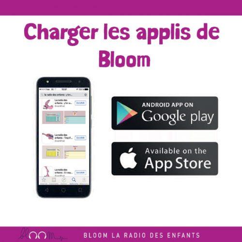 Les applis Bloom